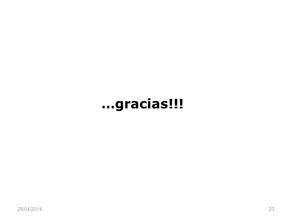 …gracias!!! 29/03/2017 23
