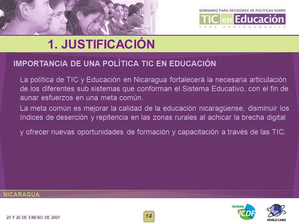 BENEFICIOS DE UNA POLÍTICA TIC EN EDUCACIÓN