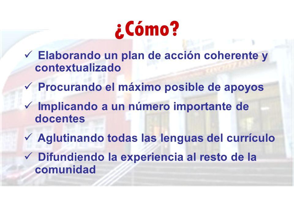 ¿Cómo Elaborando un plan de acción coherente y contextualizado