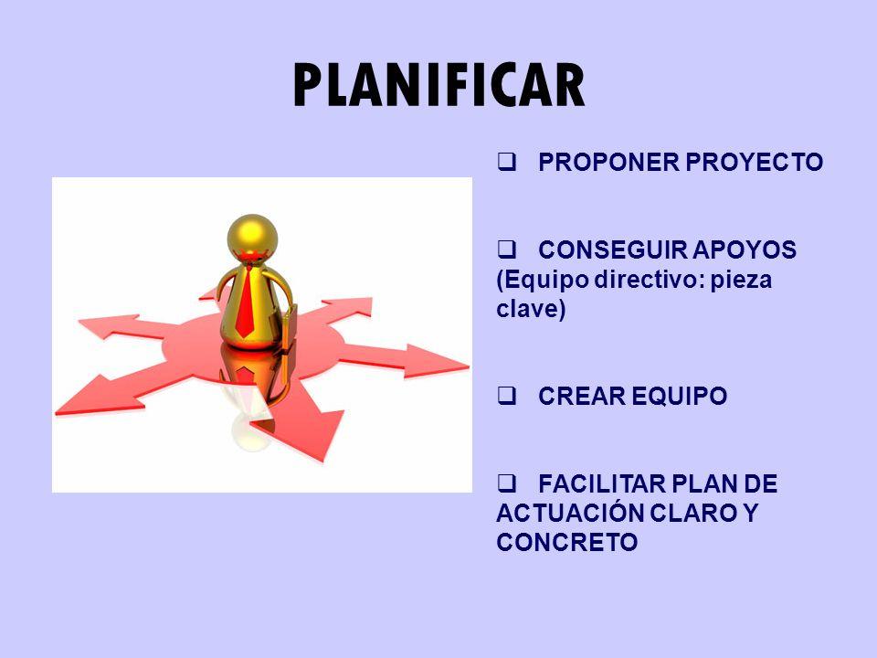 PLANIFICAR PROPONER PROYECTO