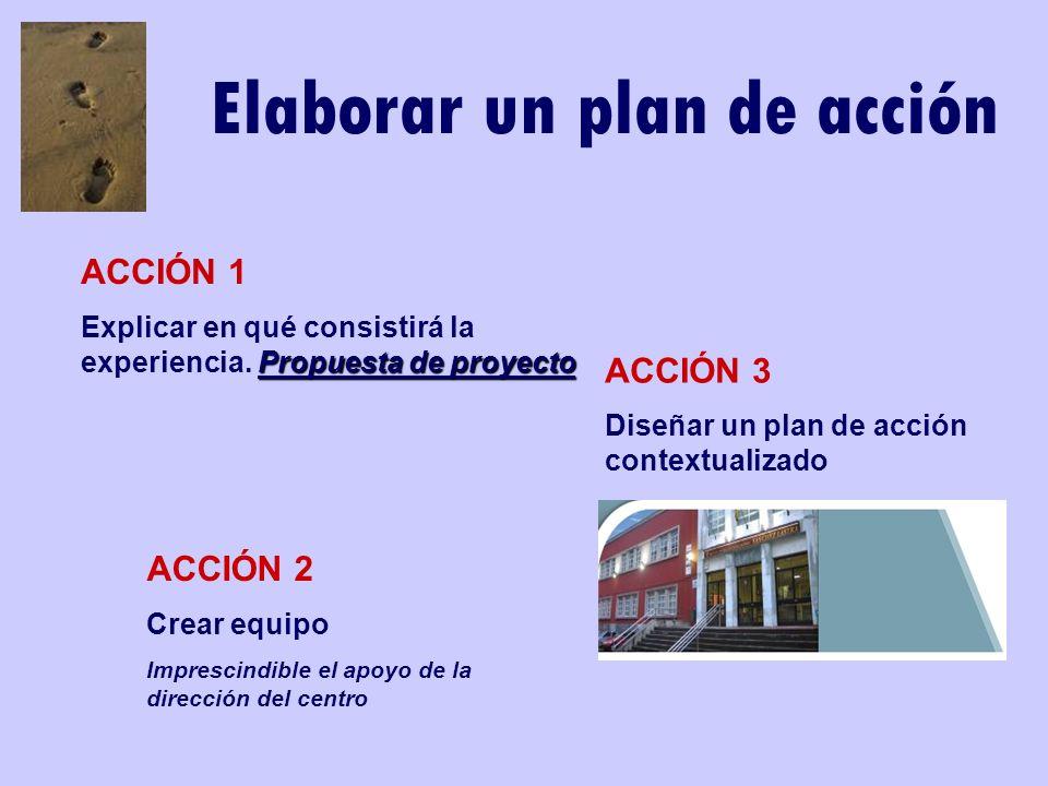 Elaborar un plan de acción