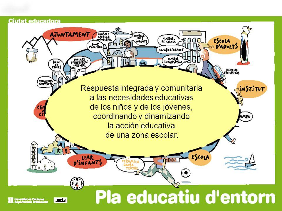 Respuesta integrada y comunitaria a las necesidades educativas