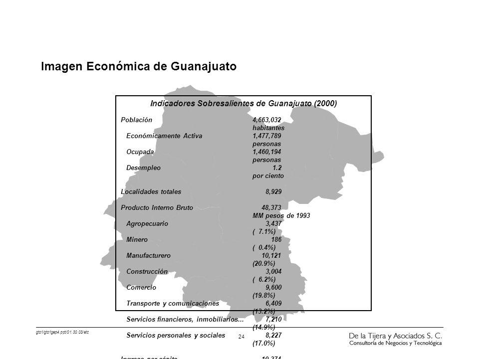 Imagen Económica de Guanajuato