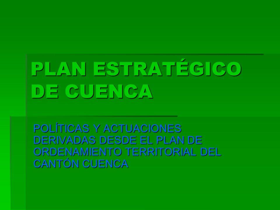 PLAN ESTRATÉGICO DE CUENCA