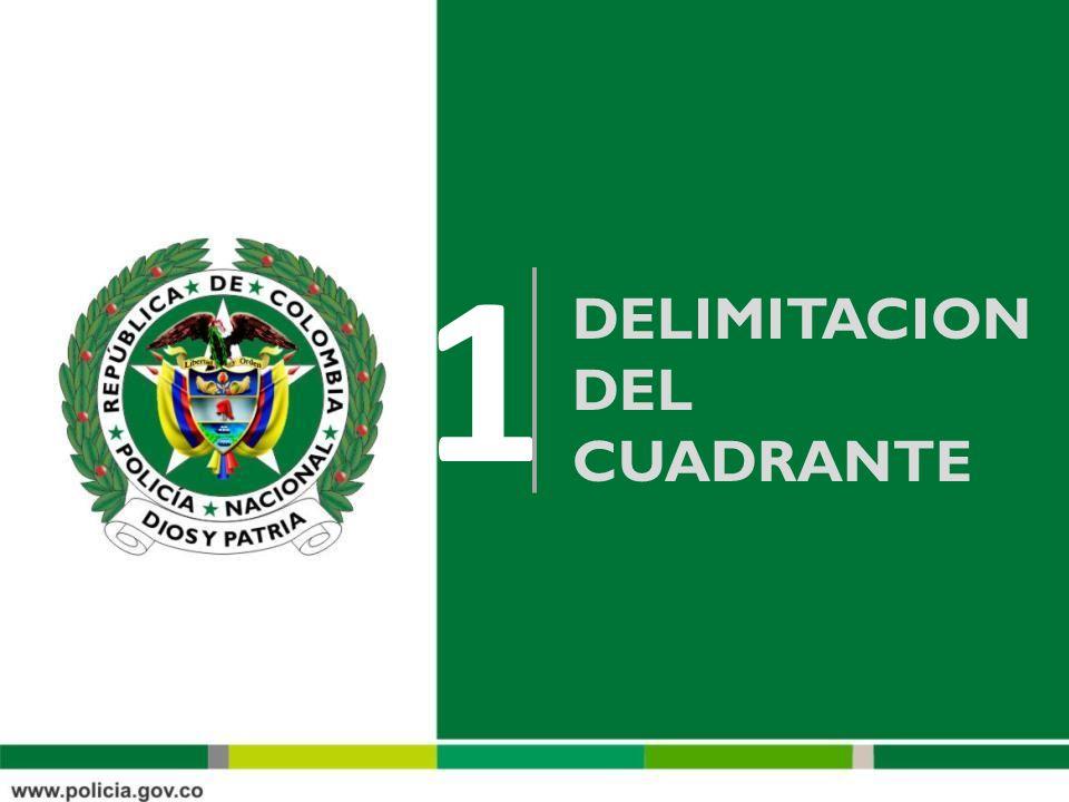 DELIMITACION DEL CUADRANTE