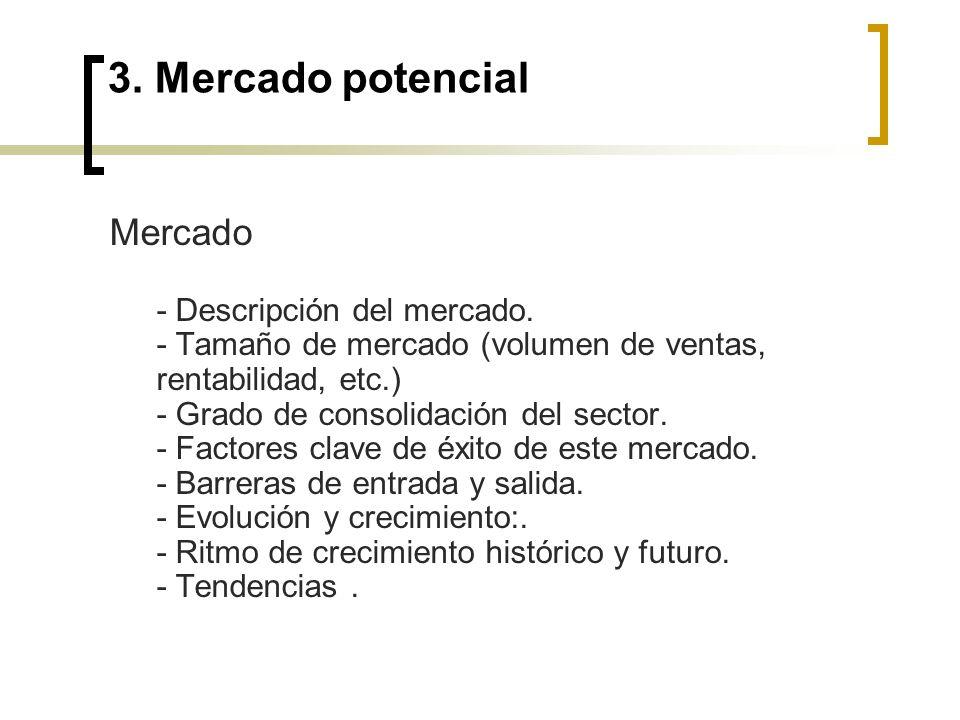 3. Mercado potencial