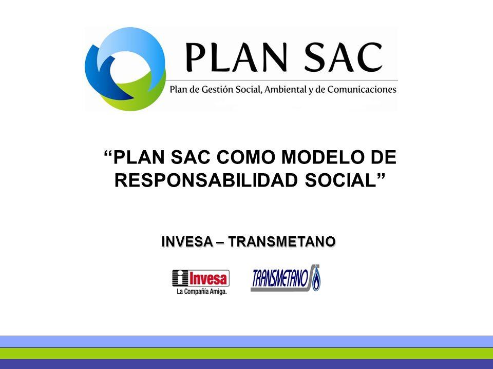PLAN SAC COMO MODELO DE RESPONSABILIDAD SOCIAL
