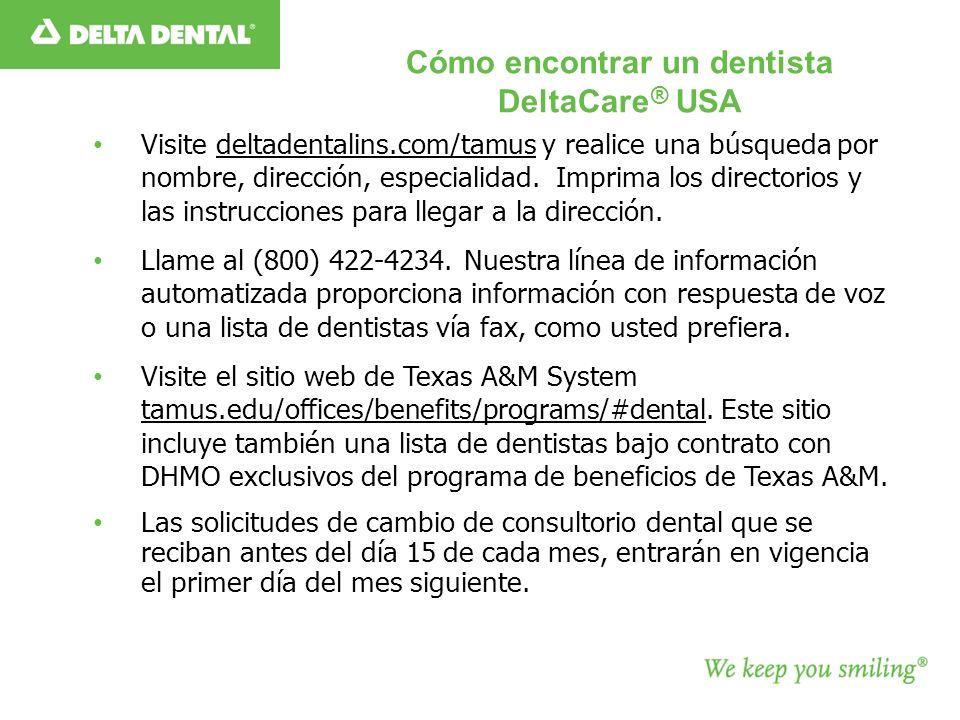 Cómo encontrar un dentista