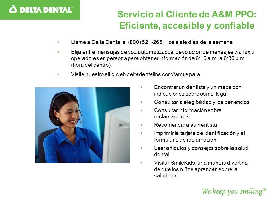 Servicio al Cliente de A&M PPO: Eficiente, accesible y confiable