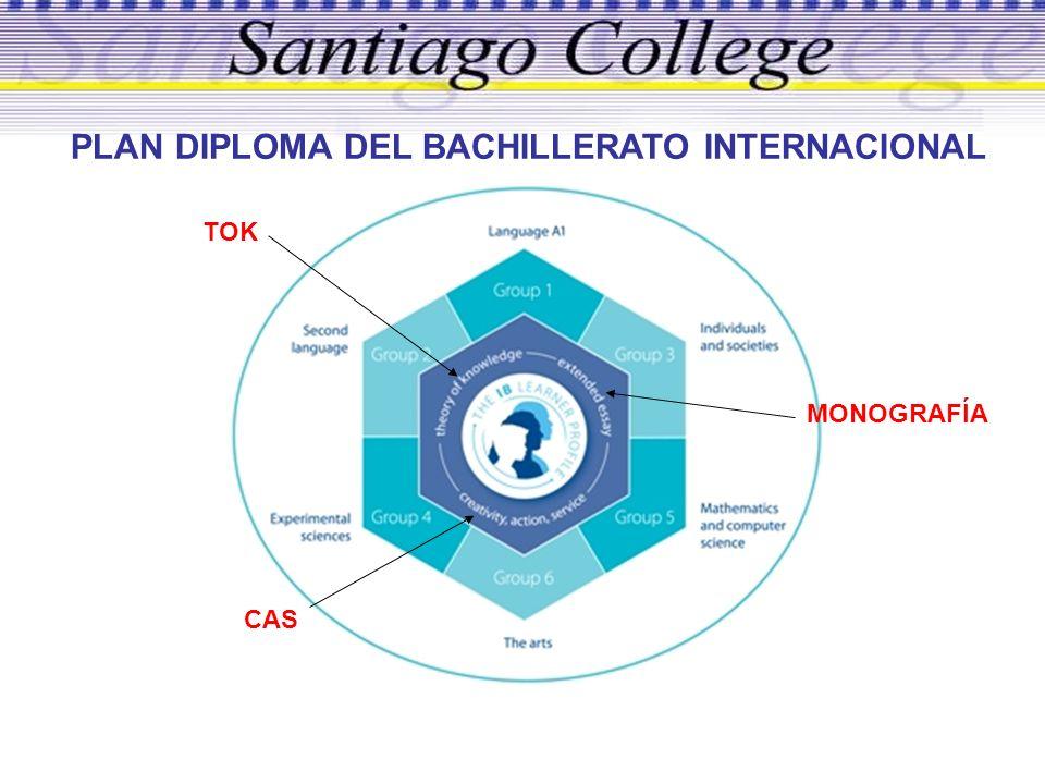 PLAN DIPLOMA DEL BACHILLERATO INTERNACIONAL