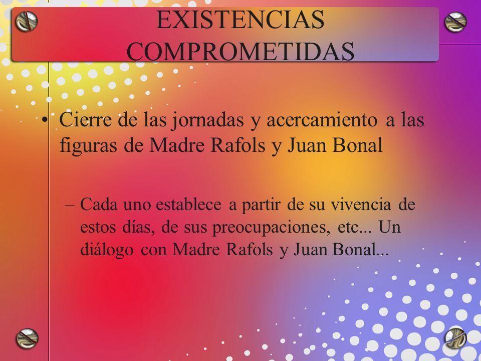 EXISTENCIAS COMPROMETIDAS