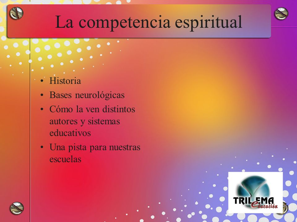 La competencia espiritual