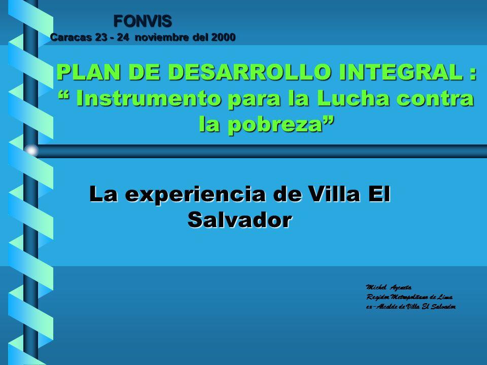 La experiencia de Villa El Salvador