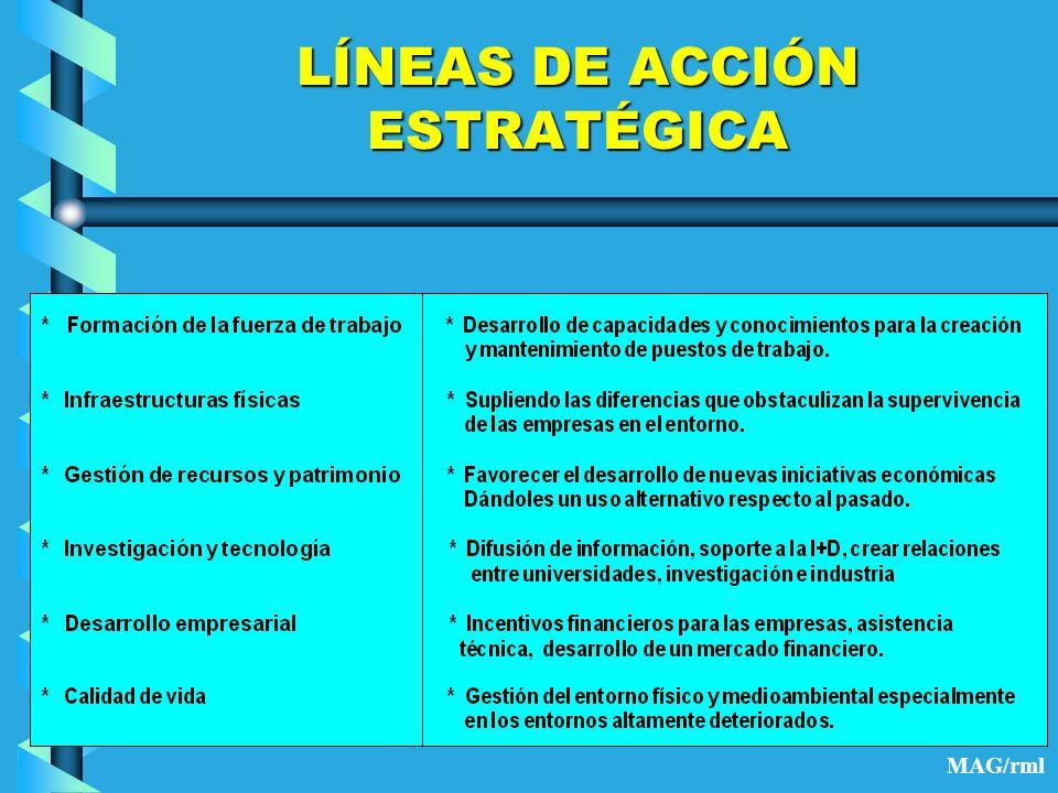 LÍNEAS DE ACCIÓN ESTRATÉGICA