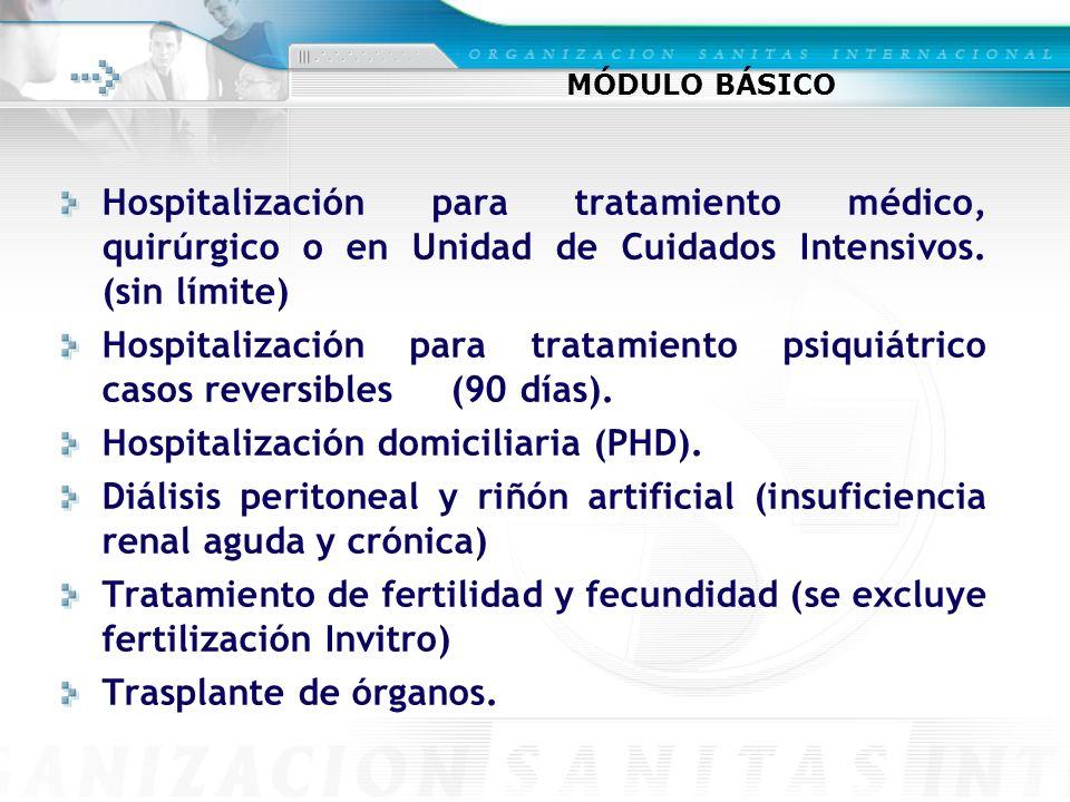 Hospitalización domiciliaria (PHD).