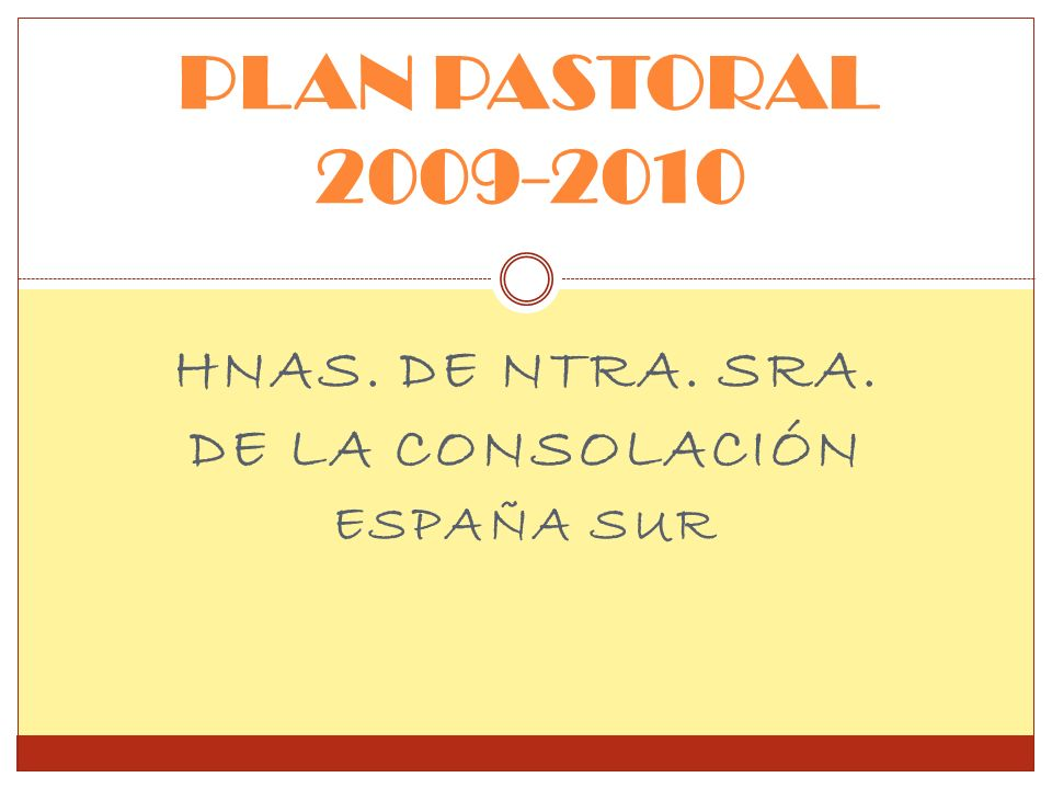 Hnas. de Ntra. Sra. de la Consolación España Sur