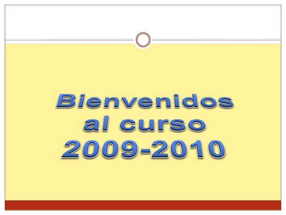 Bienvenidos al curso 2009-2010