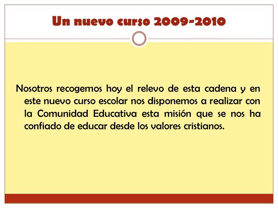 Un nuevo curso 2009-2010