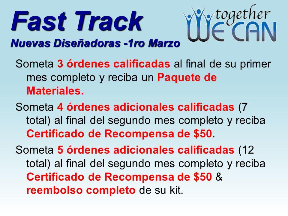 Fast Track Nuevas Diseñadoras -1ro Marzo