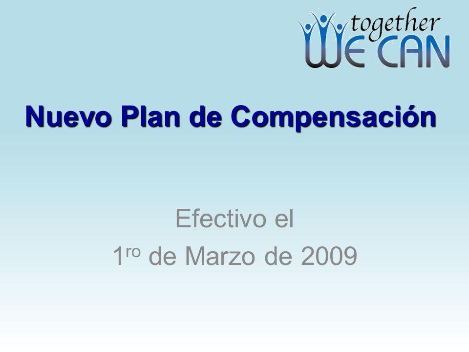 Nuevo Plan de Compensación