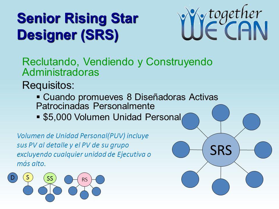 Senior Rising Star Designer (SRS)