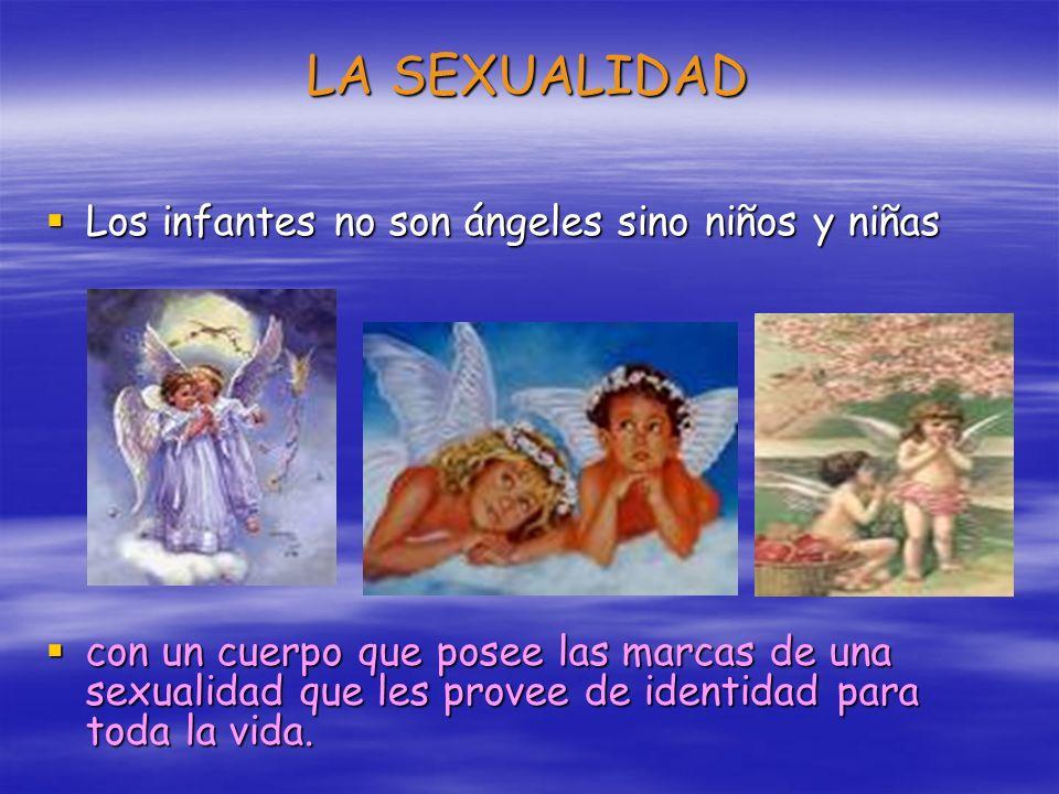 LA SEXUALIDAD Los infantes no son ángeles sino niños y niñas