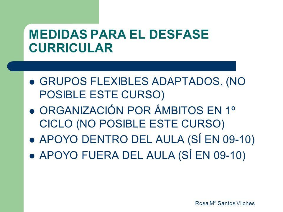 MEDIDAS PARA EL DESFASE CURRICULAR