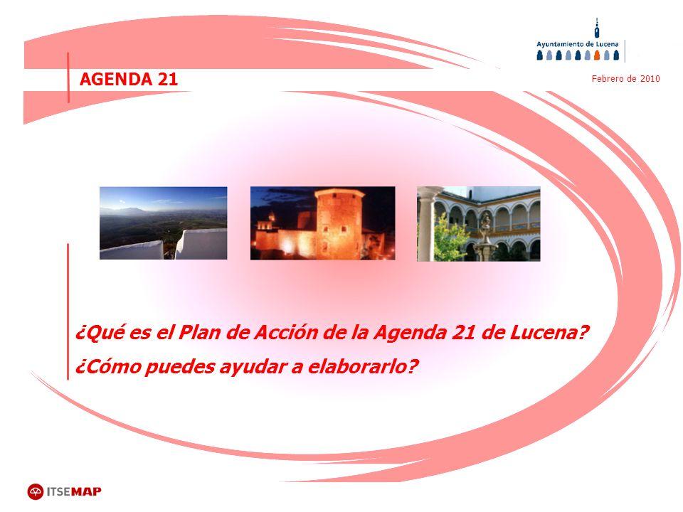 ¿Qué es el Plan de Acción de la Agenda 21 de Lucena