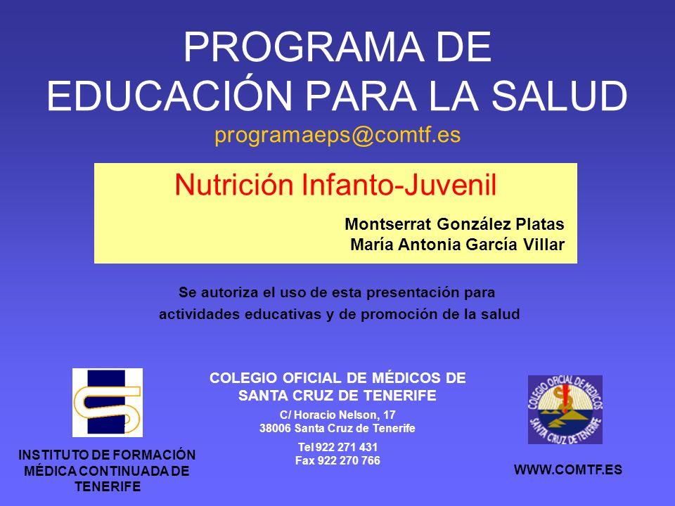 Nutrición Infanto-Juvenil