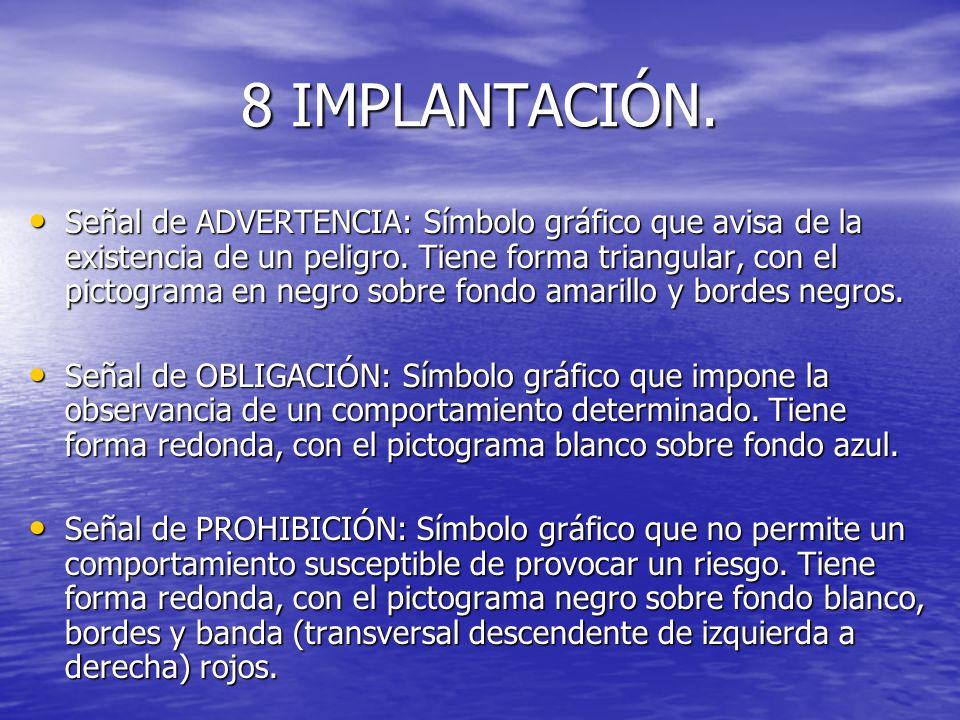 8 IMPLANTACIÓN.