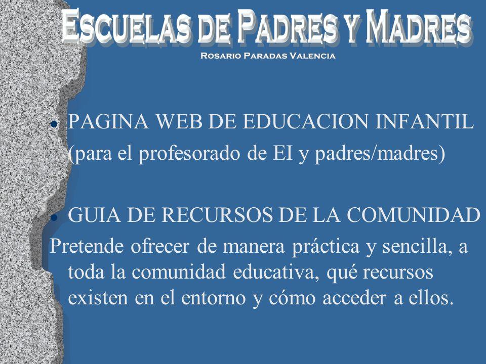 PAGINA WEB DE EDUCACION INFANTIL