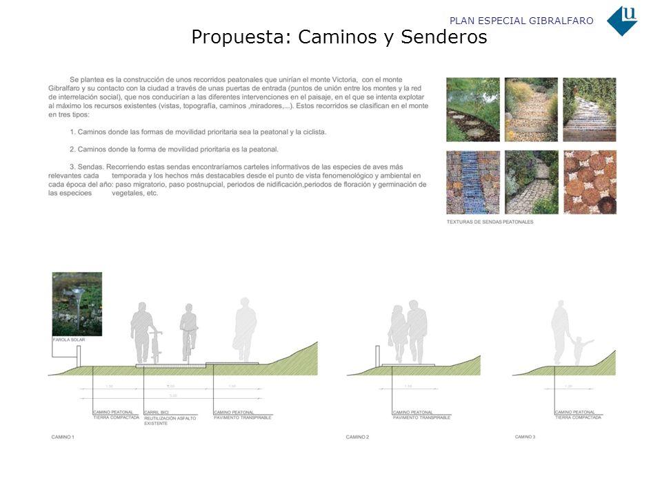 Propuesta: Caminos y Senderos