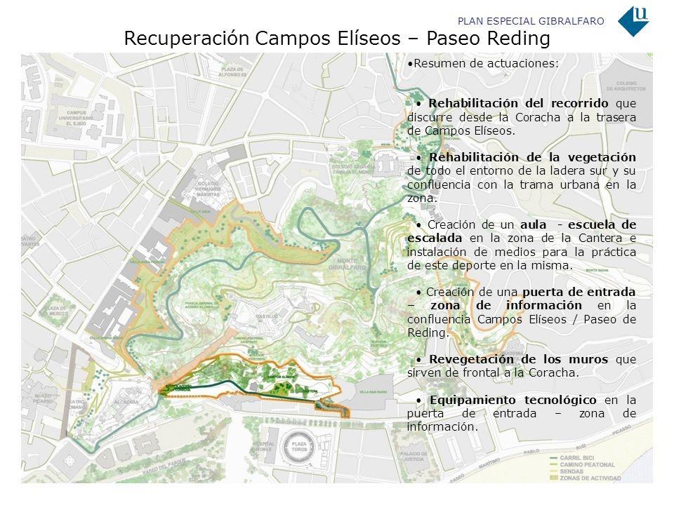 Recuperación Campos Elíseos – Paseo Reding