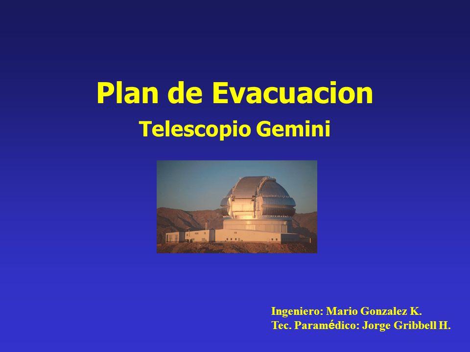 Plan de Evacuacion Telescopio Gemini