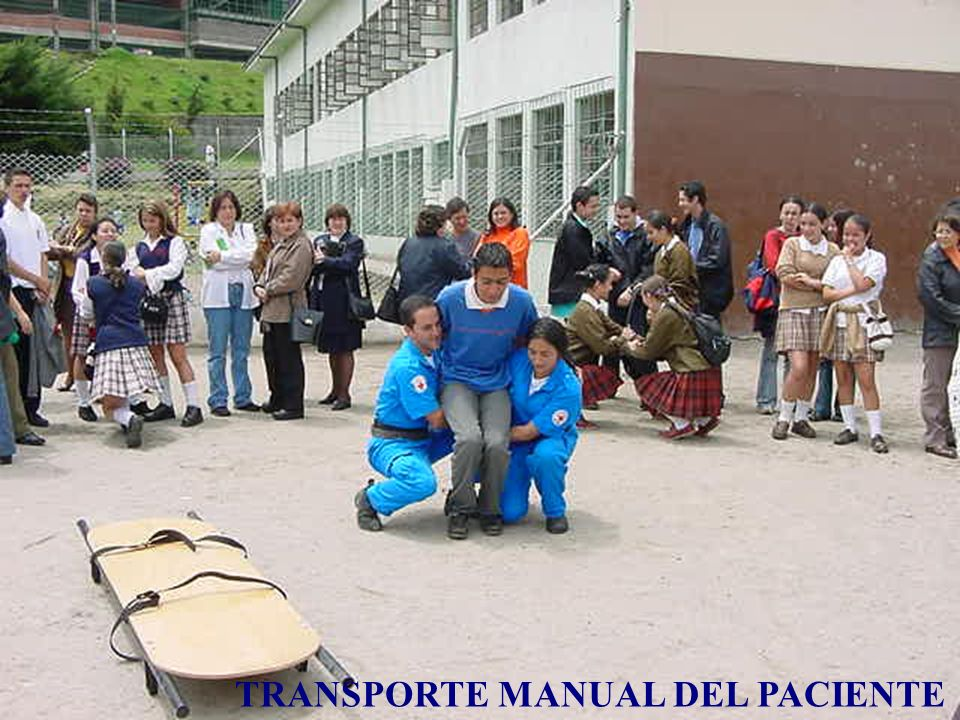 TRANSPORTE MANUAL DEL PACIENTE