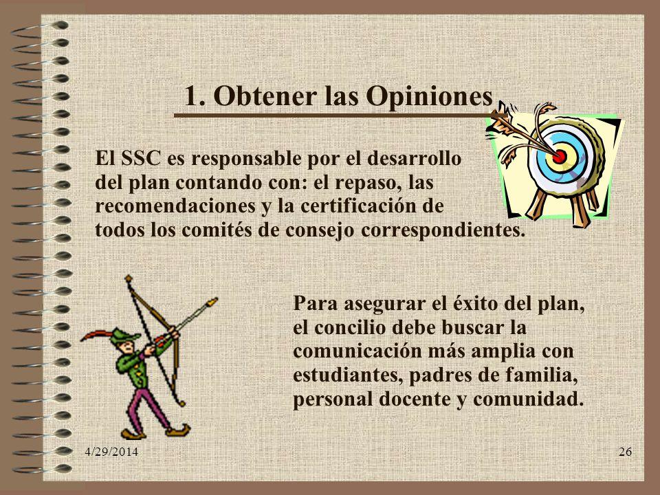 1. Obtener las Opiniones