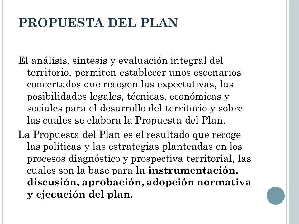 PROPUESTA DEL PLAN