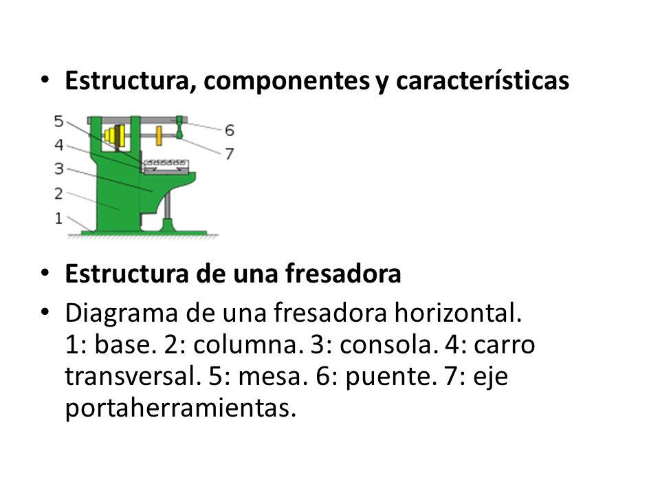 Estructura, componentes y características