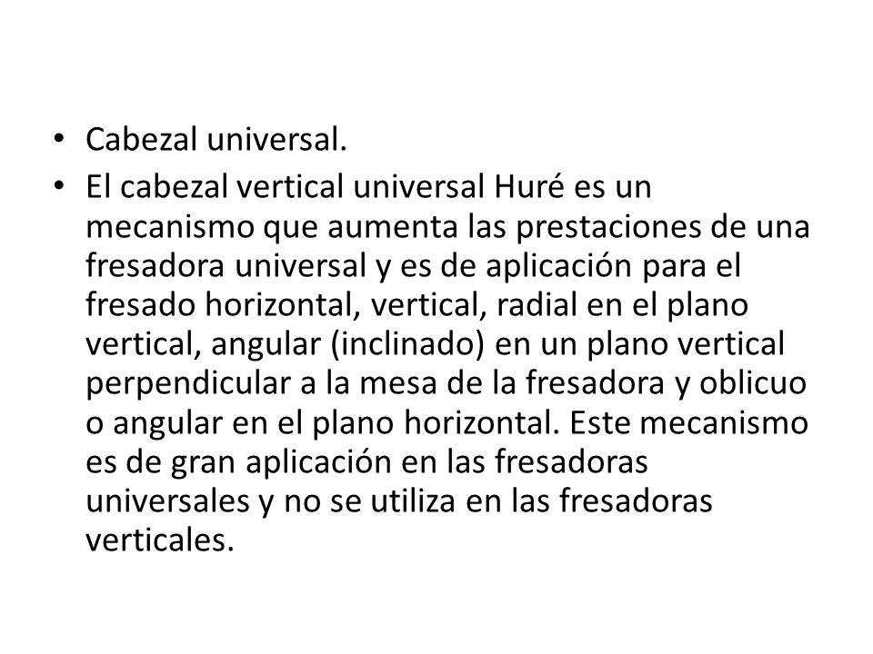 Cabezal universal.