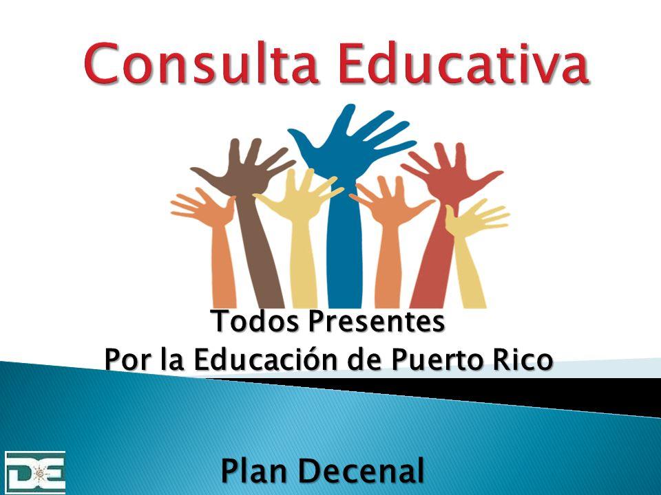Todos Presentes Por la Educación de Puerto Rico