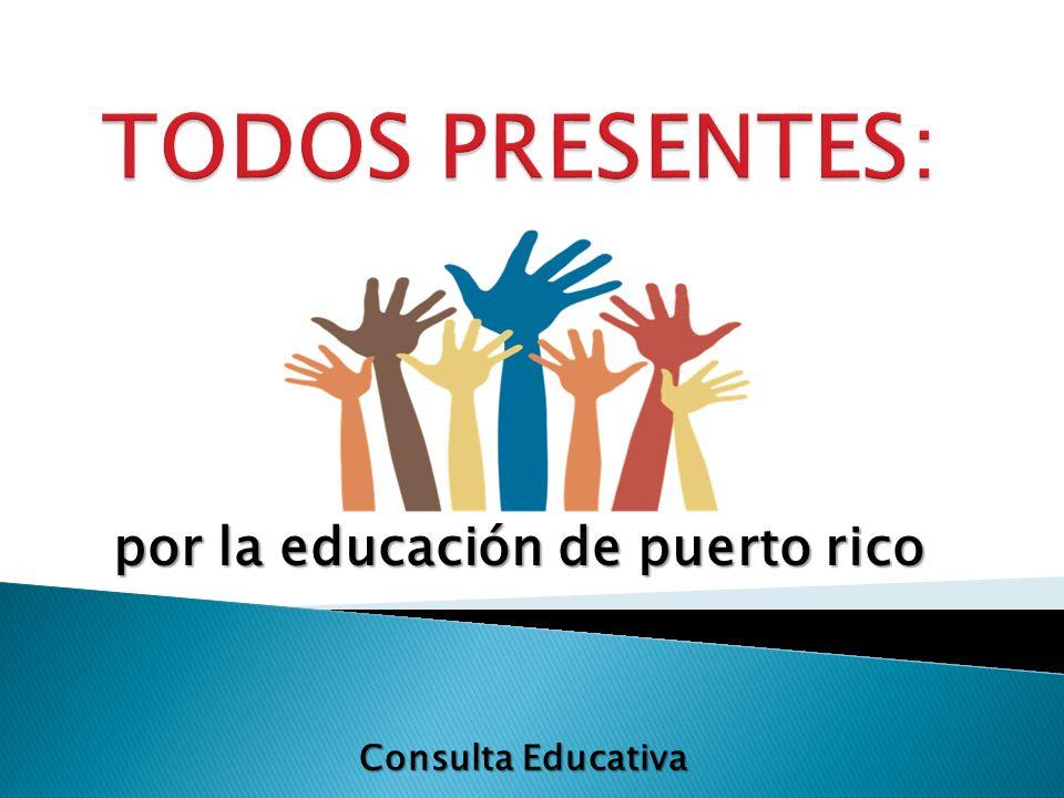 por la educación de puerto rico