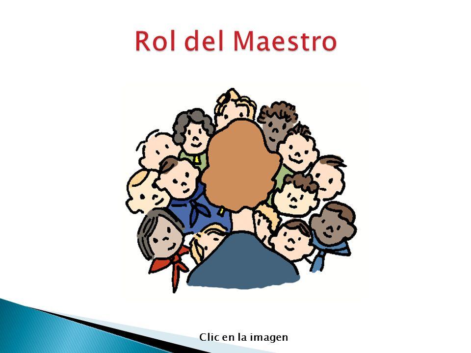 Rol del Maestro Clic en la imagen