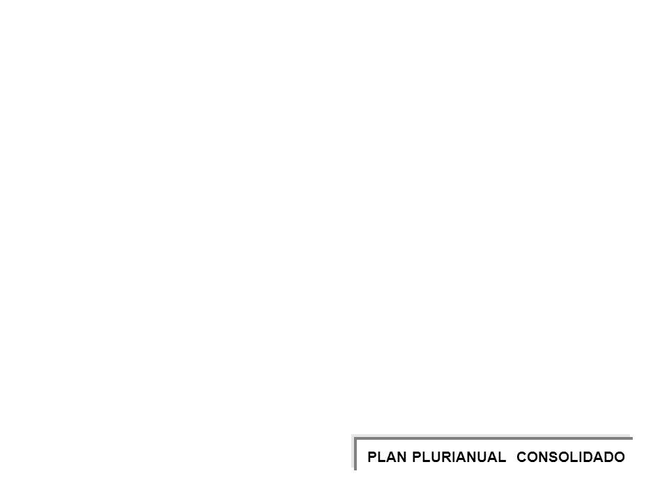 PLAN PLURIANUAL CONSOLIDADO