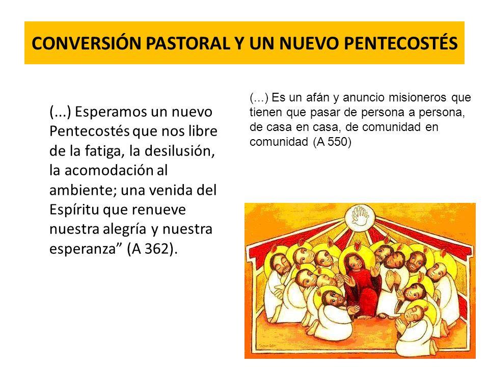 CONVERSIÓN PASTORAL Y UN NUEVO PENTECOSTÉS