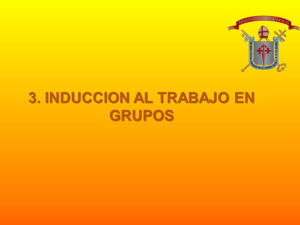 3. INDUCCION AL TRABAJO EN GRUPOS