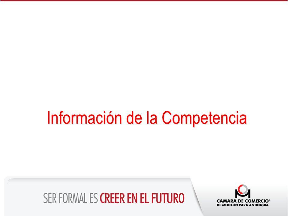 Información de la Competencia