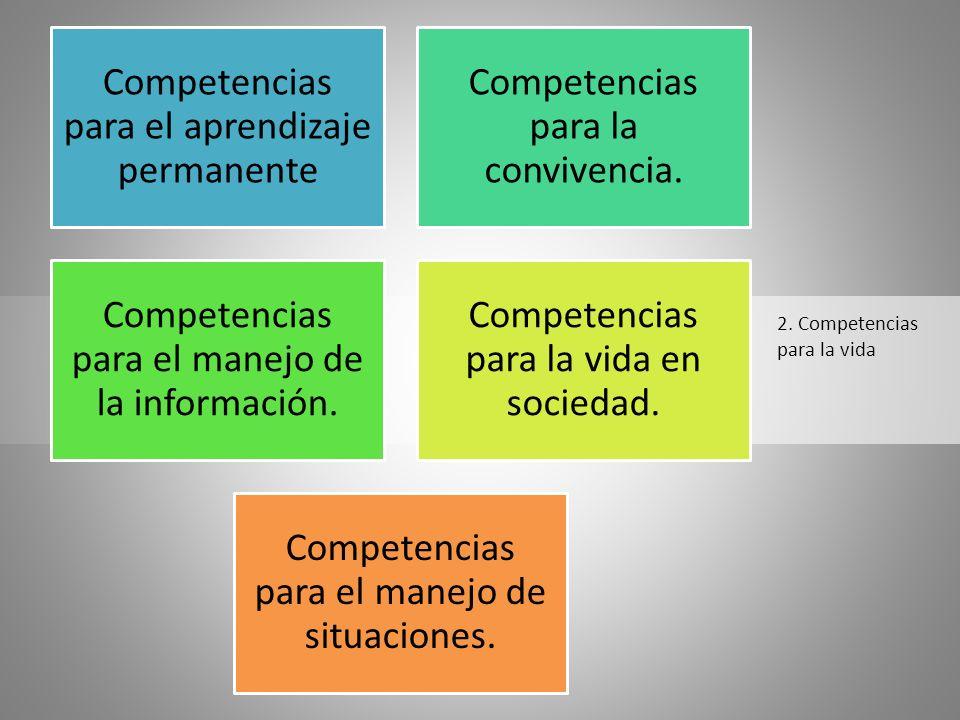 2. Competencias para la vida