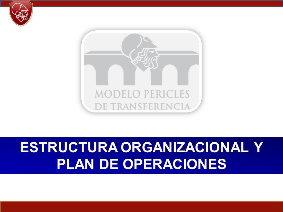 ESTRUCTURA ORGANIZACIONAL Y PLAN DE OPERACIONES