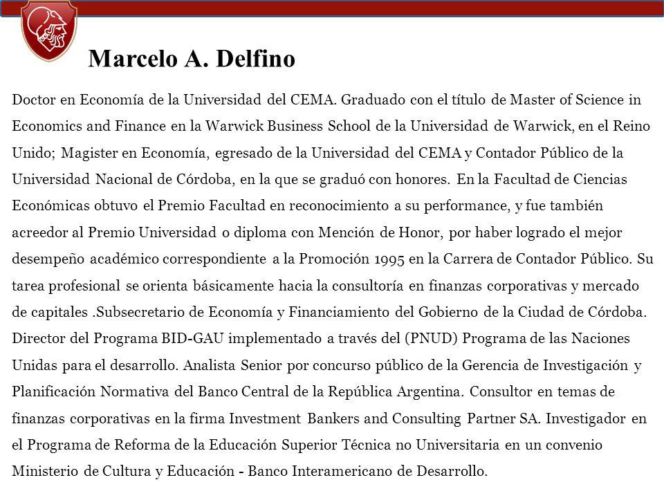 Marcelo A. Delfino