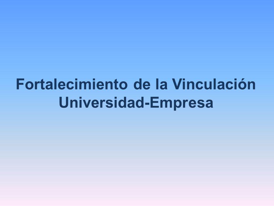 Fortalecimiento de la Vinculación Universidad-Empresa